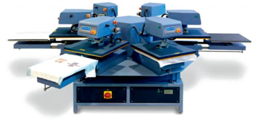 heat press carousel